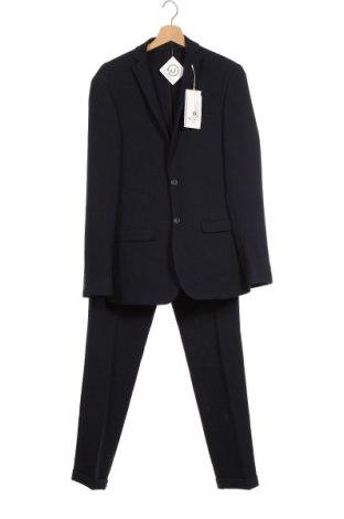 Ανδρικό κοστούμι Ben Sherman, Μέγεθος M, Χρώμα Μπλέ, 64% πολυεστέρας, 33% βισκόζη, 3% ελαστάνη, Τιμή 146,87€
