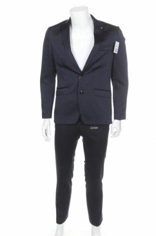 Ανδρικό κοστούμι Bruno Banani, Μέγεθος M, Χρώμα Μπλέ, 84% πολυεστέρας, 14% βισκόζη, 2% ελαστάνη, Τιμή 97,06€