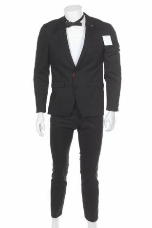Ανδρικό κοστούμι Bruno Banani, Μέγεθος S, Χρώμα Μαύρο, 69% πολυεστέρας, 29% βισκόζη, 2% ελαστάνη, Τιμή 69,33€