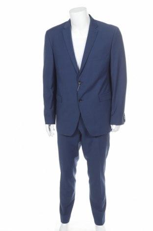 Ανδρικό κοστούμι Esprit, Μέγεθος XL, Χρώμα Μπλέ, 67% πολυεστέρας, 29% μαλλί, 4% ελαστάνη, Τιμή 97,06€