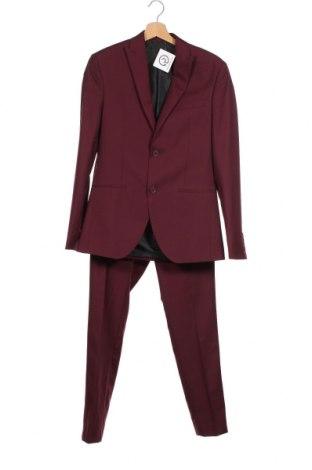 Ανδρικό κοστούμι Isaac Dewhirst, Μέγεθος M, Χρώμα Κόκκινο, 80% πολυεστέρας, 20% βισκόζη, Τιμή 86,24€