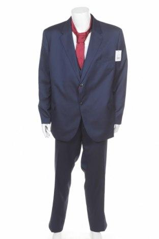 Мъжки костюм Man's World, Размер XXL, Цвят Син, 73% полиестер, 27% вискоза, Цена 76,97лв.