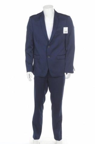 Ανδρικό κοστούμι Thomas Goodwin, Μέγεθος XL, Χρώμα Μπλέ, 85% πολυεστέρας, 13% βισκόζη, 2% ελαστάνη, Τιμή 59,02€