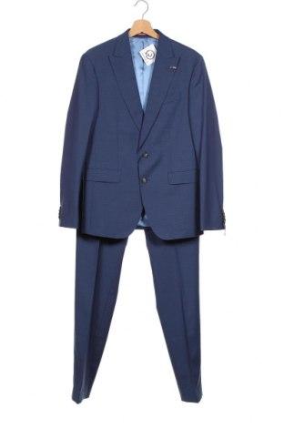 Ανδρικό κοστούμι Tommy Hilfiger, Μέγεθος M, Χρώμα Μπλέ, 56% πολυεστέρας, 42% μαλλί, 2% ελαστάνη, Τιμή 136,35€