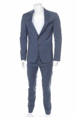 Ανδρικό κοστούμι Tommy Hilfiger, Μέγεθος M, Χρώμα Μπλέ, 56% πολυεστέρας, 42% μαλλί, 2% ελαστάνη, Τιμή 139,86€