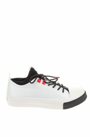 Ανδρικά παπούτσια Bikkembergs, Μέγεθος 44, Χρώμα Λευκό, Κλωστοϋφαντουργικά προϊόντα, Τιμή 92,40€