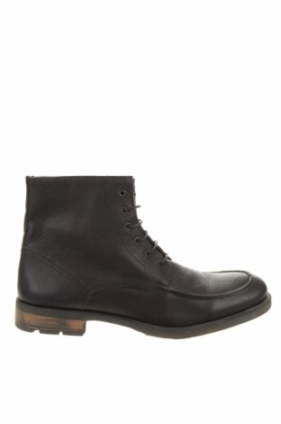 Мъжки обувки Buffalo, Размер 45, Цвят Черен, Естествена кожа, Цена 73,01лв.
