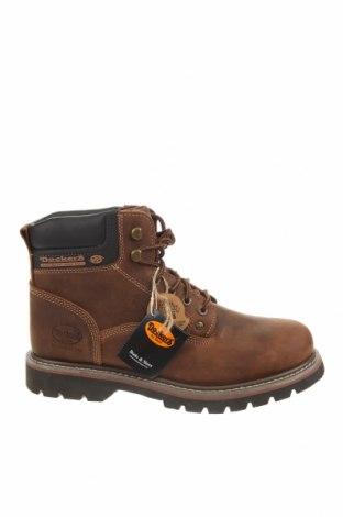 Мъжки обувки Dockers by Gerli, Размер 43, Цвят Кафяв, Естествена кожа, Цена 129,00лв.