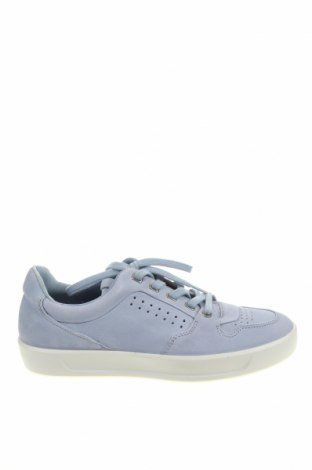 Мъжки обувки Ecco, Размер 41, Цвят Син, Естествена кожа, Цена 141,75лв.