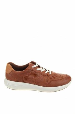 Мъжки обувки Ecco, Размер 44, Цвят Кафяв, Естествена кожа, Цена 141,75лв.