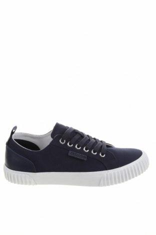 Ανδρικά παπούτσια Lyle & Scott, Μέγεθος 40, Χρώμα Μπλέ, Κλωστοϋφαντουργικά προϊόντα, γνήσιο δέρμα, Τιμή 57,60€