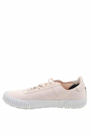 Мъжки обувки Lyle & Scott, Размер 44, Цвят Розов, Текстил, естествена кожа, Цена 49,02лв.
