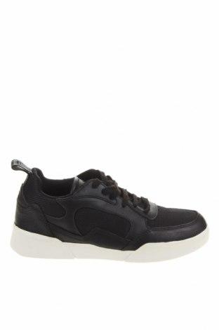 Ανδρικά παπούτσια Lyle & Scott, Μέγεθος 38, Χρώμα Μαύρο, Γνήσιο δέρμα, κλωστοϋφαντουργικά προϊόντα, Τιμή 24,58€