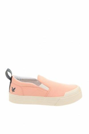 Мъжки обувки Lyle & Scott, Размер 40, Цвят Розов, Текстил, Цена 42,84лв.
