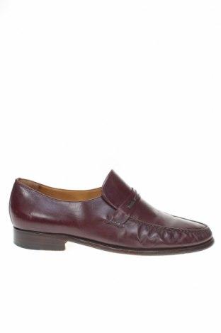 Мъжки обувки Moreschi, Размер 42, Цвят Кафяв, Естествена кожа, Цена 86,40лв.