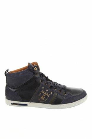 Мъжки обувки Pantofola D'oro, Размер 44, Цвят Син, Естествен велур, естествена кожа, Цена 134,25лв.