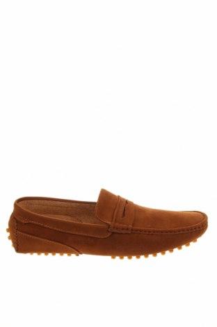 Мъжки обувки Pier One, Размер 45, Цвят Кафяв, Текстил, Цена 66,75лв.