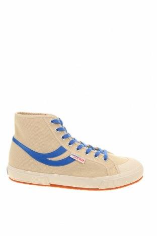 Мъжки обувки Superga, Размер 43, Цвят Бежов, Текстил, Цена 75,21лв.