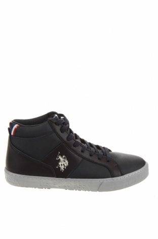 Ανδρικά παπούτσια U.S. Polo Assn., Μέγεθος 43, Χρώμα Μπλέ, Δερματίνη, Τιμή 61,47€