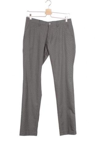 Мъжки панталон Bertoni, Размер S, Цвят Сив, 65% полиестер, 35% вискоза, Цена 31,24лв.