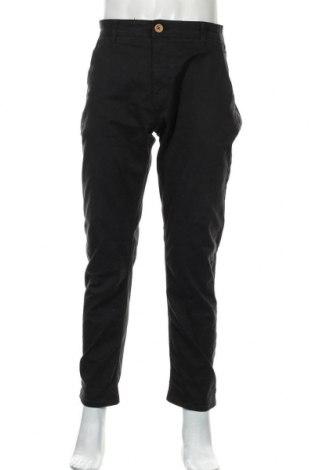 Pantaloni de bărbați Blend, Mărime L, Culoare Negru, 98% bumbac, 2% elastan, Preț 69,47 Lei