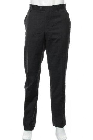 Мъжки панталон Christian Berg, Размер L, Цвят Черен, 53% полиестер, 44% вълна, 3% еластан, Цена 26,60лв.