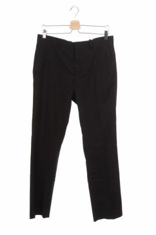 Ανδρικό παντελόνι H&M, Μέγεθος M, Χρώμα Μαύρο, 75% πολυεστέρας, 25% βισκόζη, Τιμή 13,46€