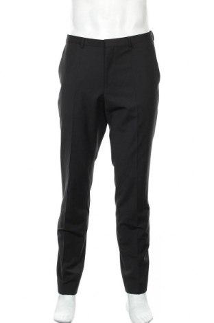 Ανδρικό παντελόνι Hugo Boss, Μέγεθος L, Χρώμα Μαύρο, 74% βαμβάκι, 22% πολυεστέρας, 4% ελαστάνη, Τιμή 138,79€