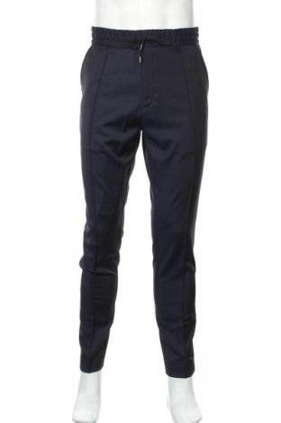 Ανδρικό παντελόνι Hugo Boss, Μέγεθος L, Χρώμα Μπλέ, 65% πολυεστέρας, 35% βαμβάκι, Τιμή 131,06€