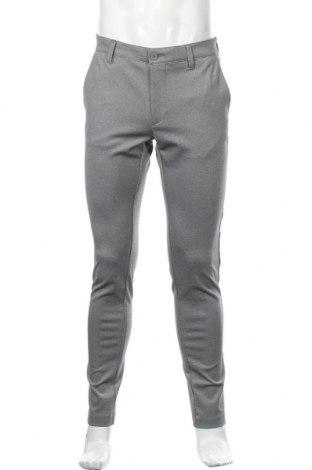 Pantaloni de bărbați Indicode, Mărime M, Culoare Gri, 75% poliester, 20% viscoză, 5% elastan, Preț 67,89 Lei