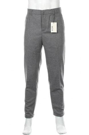 Мъжки панталон Kiomi, Размер L, Цвят Сив, 53% вълна, 38% полиестер, 5% полиамид, 2% вискоза, 2% акрил, Цена 54,00лв.