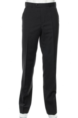 Ανδρικό παντελόνι LODENFREY, Μέγεθος M, Χρώμα Μαύρο, 100% μαλλί, Τιμή 10,76€