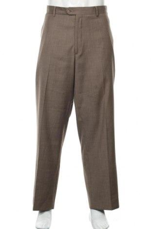 Мъжки панталон Perry Ellis, Размер XL, Цвят Кафяв, Полиестер, Цена 6,83лв.