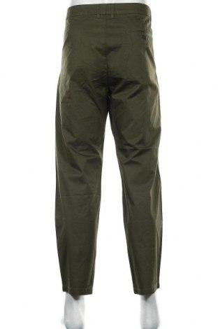 Мъжки панталон Pier One, Размер L, Цвят Зелен, Памук, Цена 17,11лв.