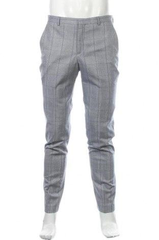 Pantaloni de bărbați Shelby & Sons, Mărime M, Culoare Albastru, 76% poliester, 22% viscoză, 2% elastan, Preț 55,26 Lei