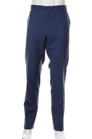 Ανδρικό παντελόνι Tommy Hilfiger, Μέγεθος XL, Χρώμα Μπλέ, 56% πολυεστέρας, 42% μαλλί, 2% ελαστάνη, Τιμή 97,46€