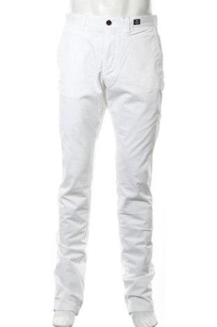 Ανδρικό παντελόνι Tommy Hilfiger, Μέγεθος L, Χρώμα Λευκό, 97% βαμβάκι, 3% ελαστάνη, Τιμή 63,59€