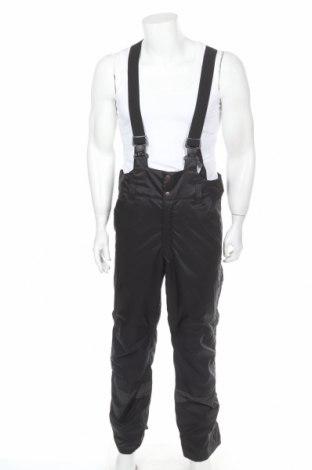 Pantaloni bărbătești pentru sporturi de iarnă, Mărime M, Culoare Negru, Poliester, Preț 75,22 Lei