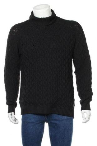 Мъжки пуловер Blend, Размер XL, Цвят Черен, Памук, Цена 33,12лв.