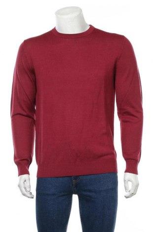 Ανδρικό πουλόβερ Christian Berg, Μέγεθος M, Χρώμα Κόκκινο, 50% μαλλί, 50% πολυακρυλικό, Τιμή 9,80€