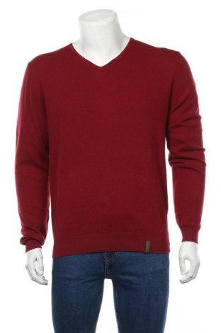Ανδρικό πουλόβερ Colours & Sons, Μέγεθος L, Χρώμα Κόκκινο, Μαλλί, Τιμή 12,76€