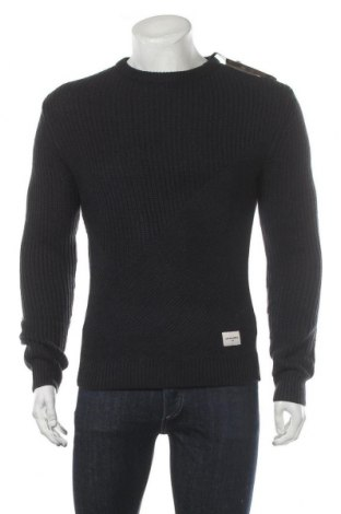 Ανδρικό πουλόβερ Core By Jack & Jones, Μέγεθος M, Χρώμα Μπλέ, 55% βαμβάκι, 45%ακρυλικό, Τιμή 14,58€