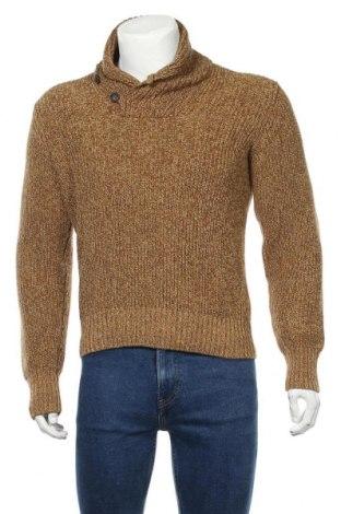 Pulover de bărbați H&M L.O.G.G., Mărime S, Culoare Maro, Bumbac, Preț 21,71 Lei