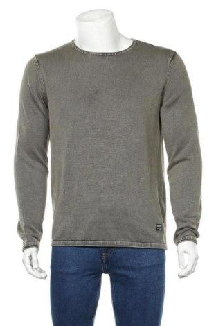 Ανδρικό πουλόβερ Jack & Jones, Μέγεθος M, Χρώμα Πράσινο, 100% βαμβάκι, Τιμή 8,01€