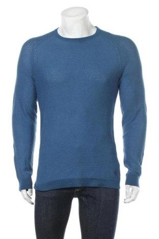 Pánský svetr  Marc O'Polo, Velikost L, Barva Modrá, Bavlna, Cena  1403,00Kč