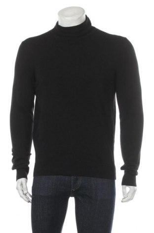 Ανδρικό πουλόβερ Pier One, Μέγεθος L, Χρώμα Μαύρο, 80% βαμβάκι, 20% πολυαμίδη, Τιμή 10,04€