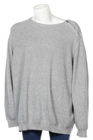 Мъжки пуловер Premium By Jack & Jones, Размер 5XL, Цвят Сив, Памук, Цена 38,40лв.