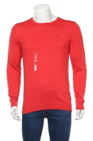 Ανδρικό πουλόβερ S.Oliver, Μέγεθος M, Χρώμα Κόκκινο, 100% βαμβάκι, Τιμή 8,89€
