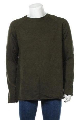 Ανδρικό πουλόβερ Scotch & Soda, Μέγεθος XXL, Χρώμα Πράσινο, 95% βαμβάκι, 5% κασμίρι, Τιμή 17,66€