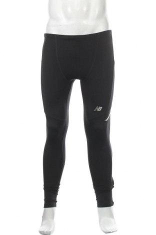Ανδρικό αθλητικό κολάν New Balance, Μέγεθος S, Χρώμα Μαύρο, Τιμή 27,84€